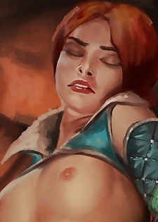 Triss In Trouble - part 2