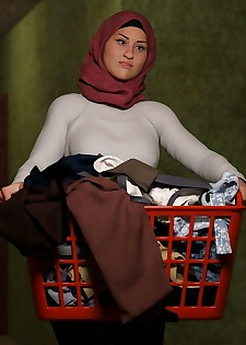 Naughty Hijab 3DX- Good Wife- VforVendettaV